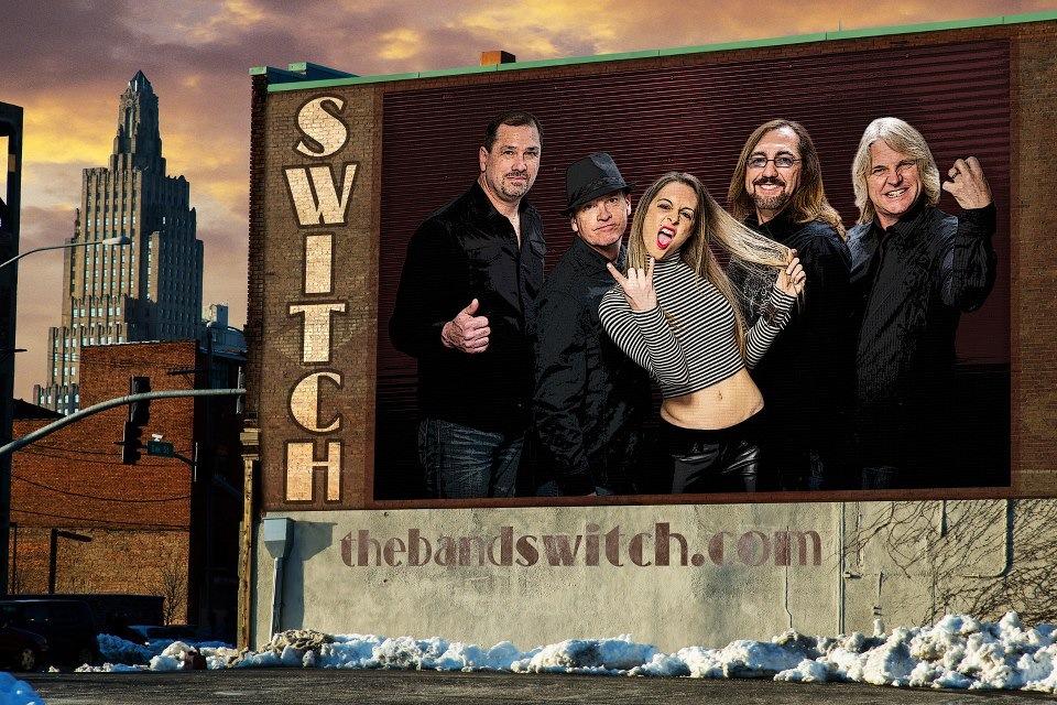 Switch Kansas City Rock Band booking 816-734-4558