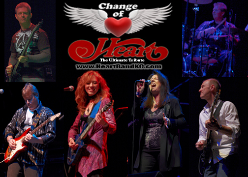 Change of Heart - Heart Tribute Band