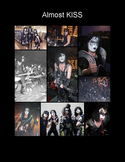 Almost Kissed Kiss Tribute Band booking 816-734-4558