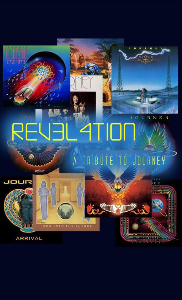 Revelation Journey Tribute band booking 816-734-4558