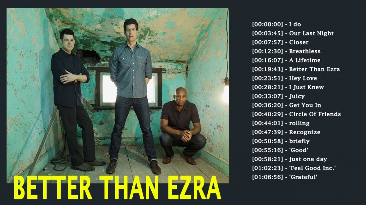 Better Than Ezra Booking Agency | Better Than Ezra Event Booking