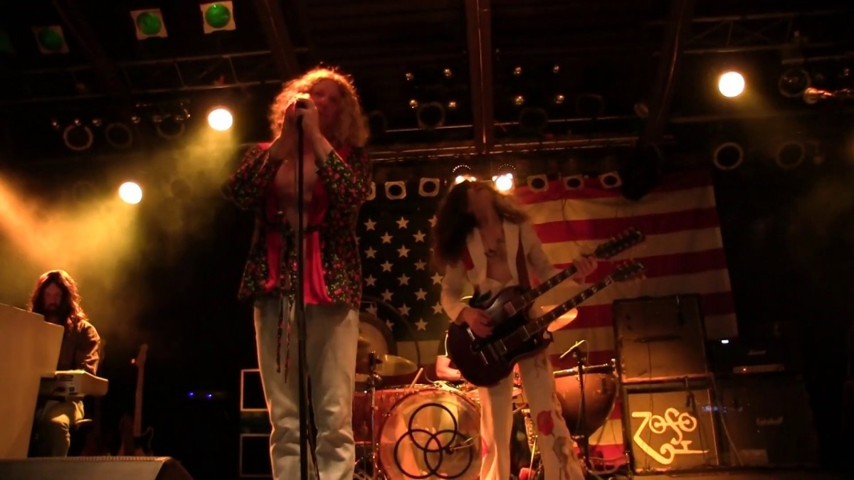 Kashmir – Led Zeppelin Tribute Band Booking Agency