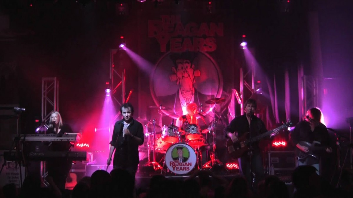 The Reagan Years – 80s Tribute Band Booking Agency